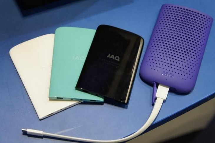 JAQ pile combustible recharge smartphone