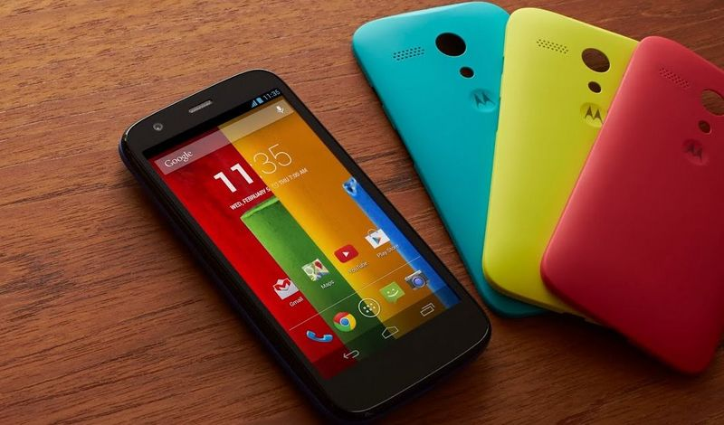 Moto G Android 5.1 Lollipop