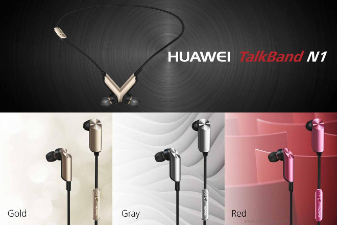 Huawei Talkband N1 officiel
