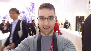 Selfie avec le Galaxy Note 4