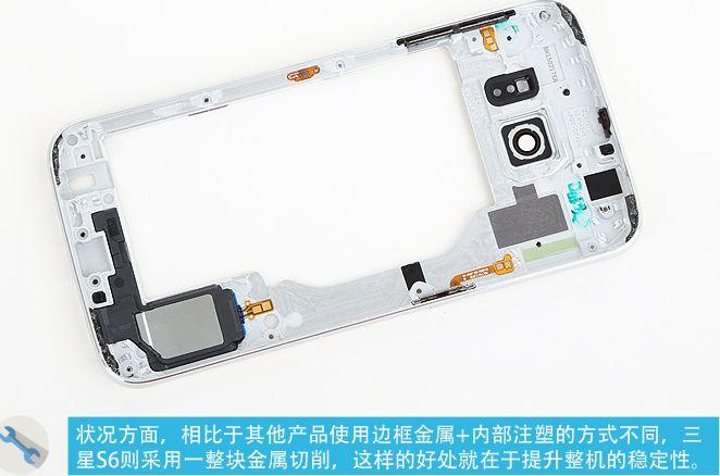 Galaxy S6 cadre