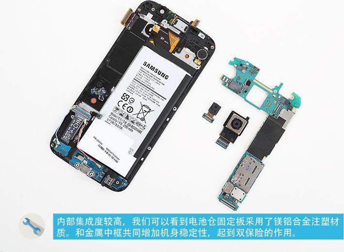 Galaxy S6 démonté
