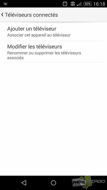 ajouter televiseur YouTube