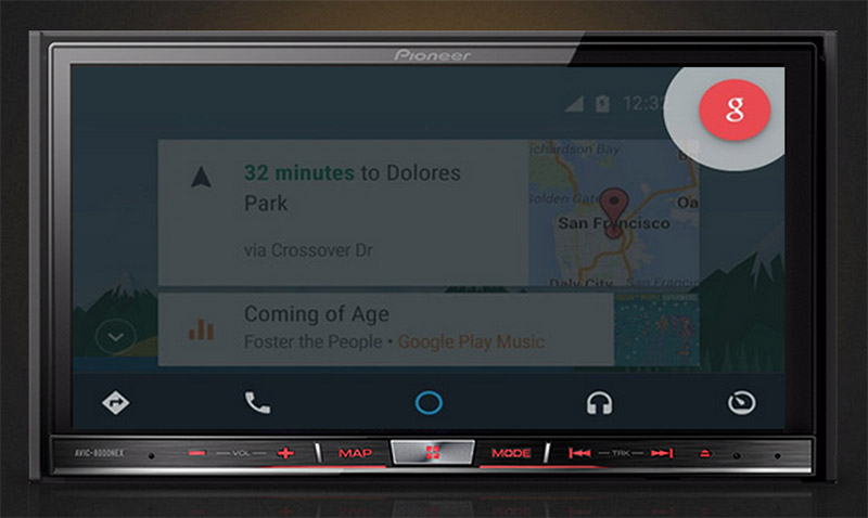 android auto demarre officiel
