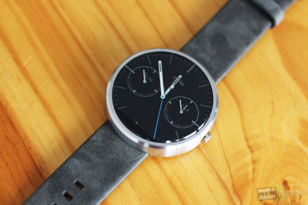 Android Wear avec le support du WiFi