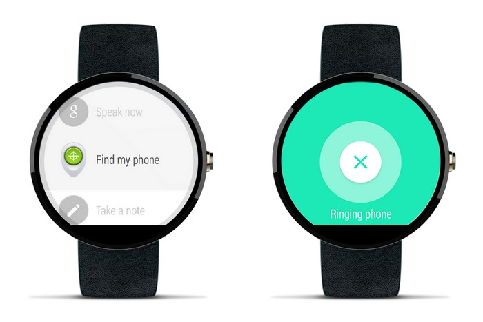 android wear trouver telephone