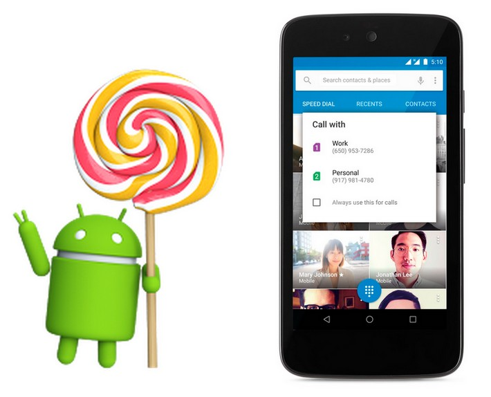 Android 5.1 officiel