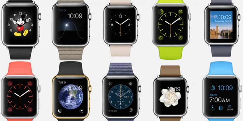 apple watch bracelets plus chers smartwatches android wear