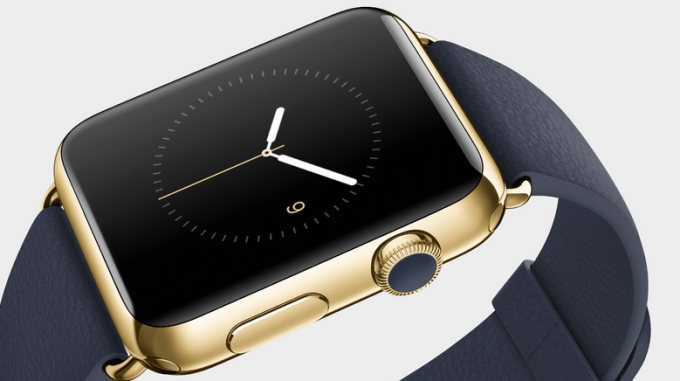 Apple Watch, édition en or