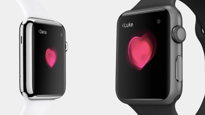 Apple Watch, les fonctions