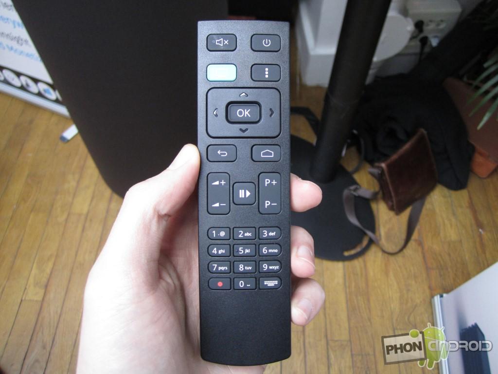 BBox Miami, une télécommande simple