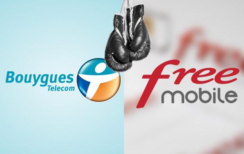 bouygues telecom free réseau