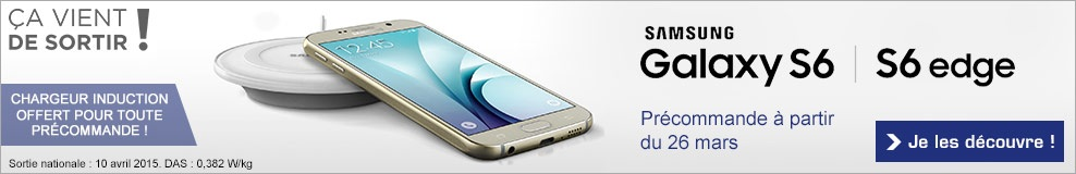 chargeur induction Galaxy S6
