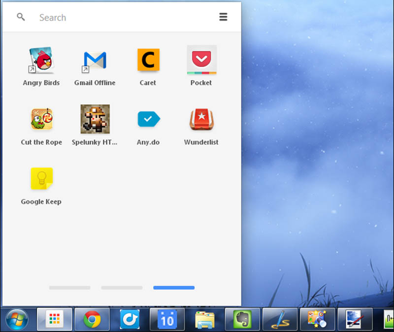 chrome launcher windows