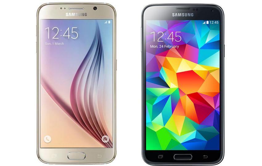 comparatif Galaxy S6 vs Galaxy S6