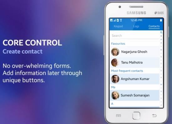 contacts Tizen