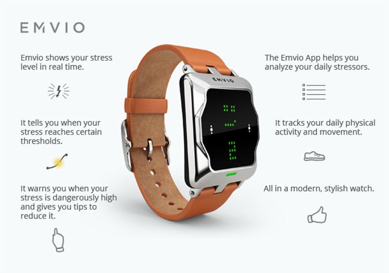 emvio smartwatch aide rester zen