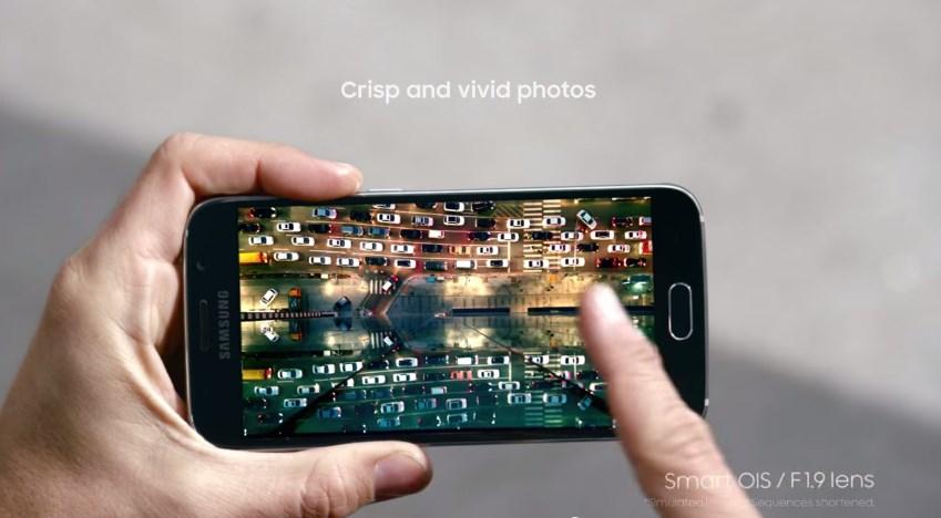 Galaxy S6 capteur photo balance des blancs