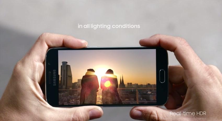 Galaxy S6 capteur photo HDR