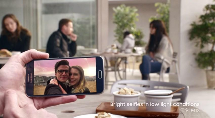 Galaxy S6 capteur photo ouverture