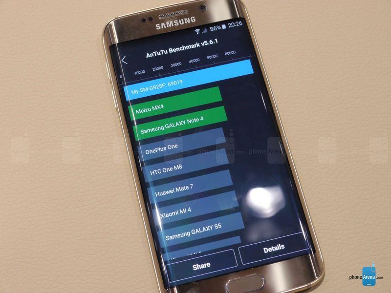 Galaxy S6 Edge AnTuTu