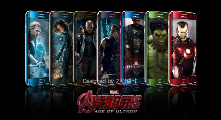 Galaxy S6 Edge Avengers
