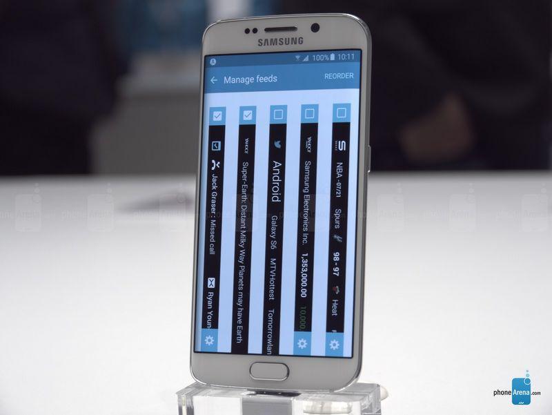 Galaxy S6 Edge  flux actualités