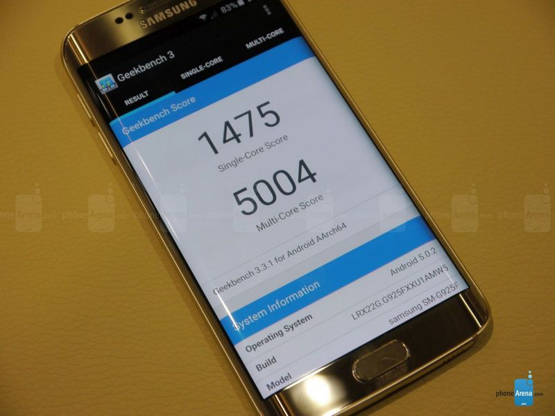 Galaxy S6 Edge Geekbench