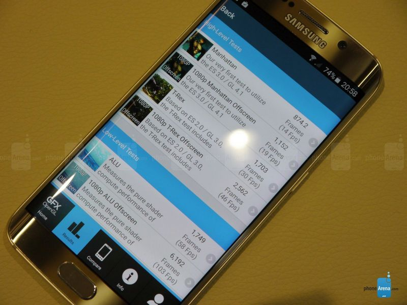 Galaxy S6 Edge GFXBench