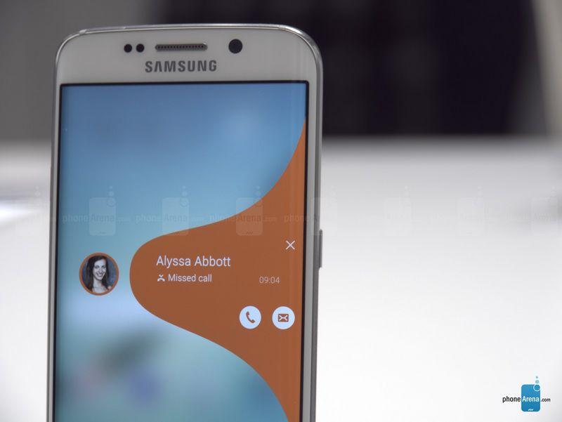 Galaxy S6 Edge notifications