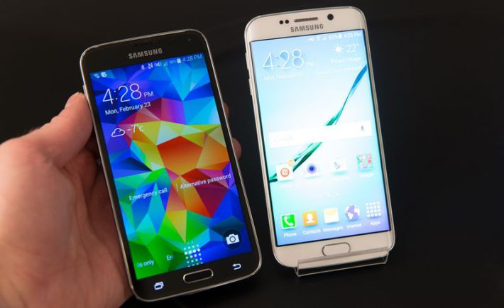 Galaxy S6 Edge vs S5
