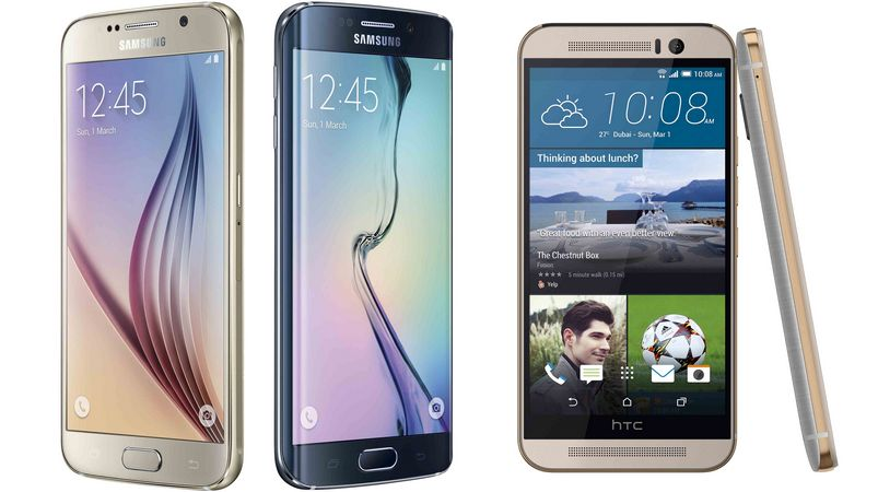 Galaxy S6 HTC One M9