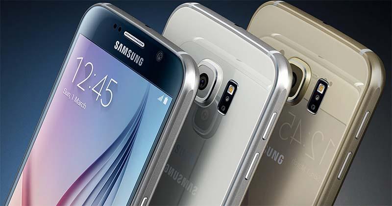 Galaxy S6 stockage