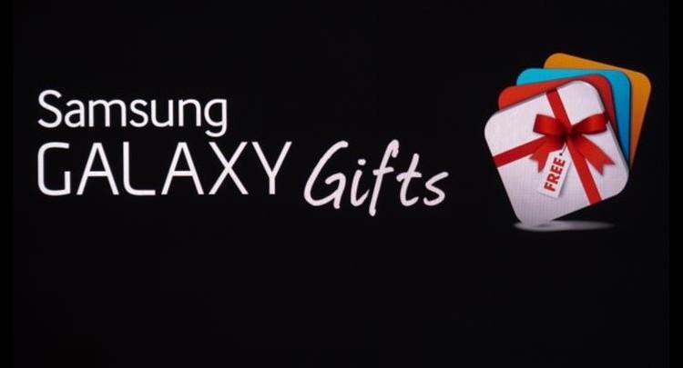 cadeau avec les galaxy s6
