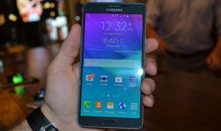 Galaxy Note 4 mise à jour Lollipop