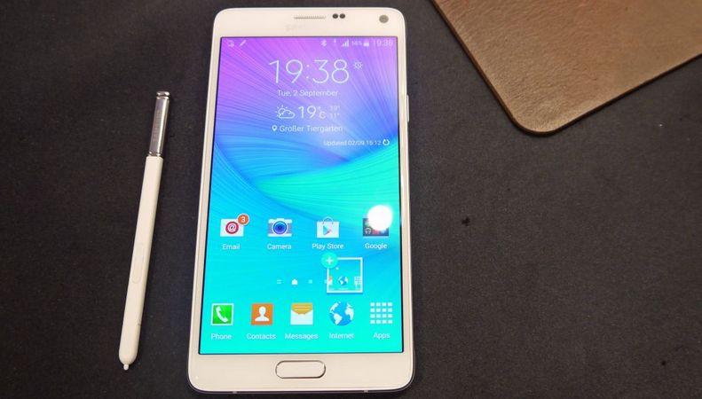 Galaxy Note 5 processeur