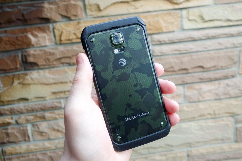 Galaxy S6 Active avec son écran Quad HD