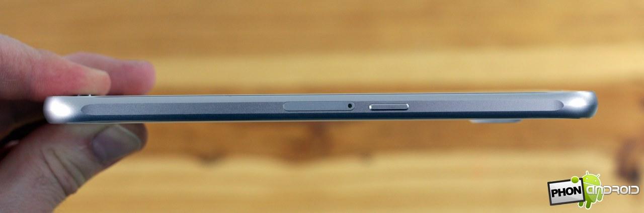 Galaxy S6 aluminium