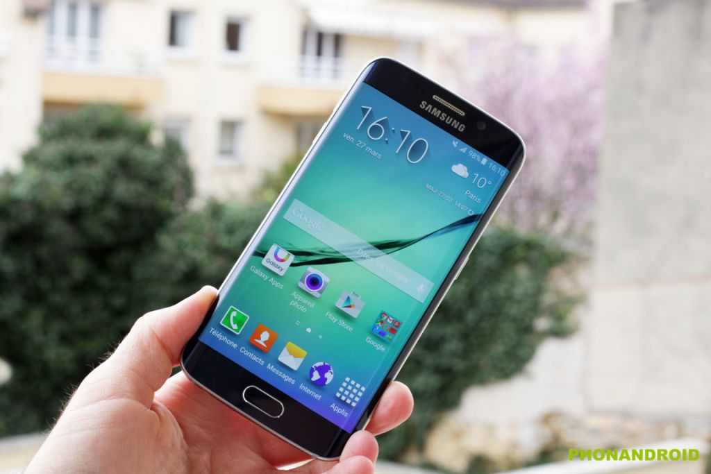 Samsung galaxy s6 et s6 edge prix fiche technique et for Samsung s6 photo ecran
