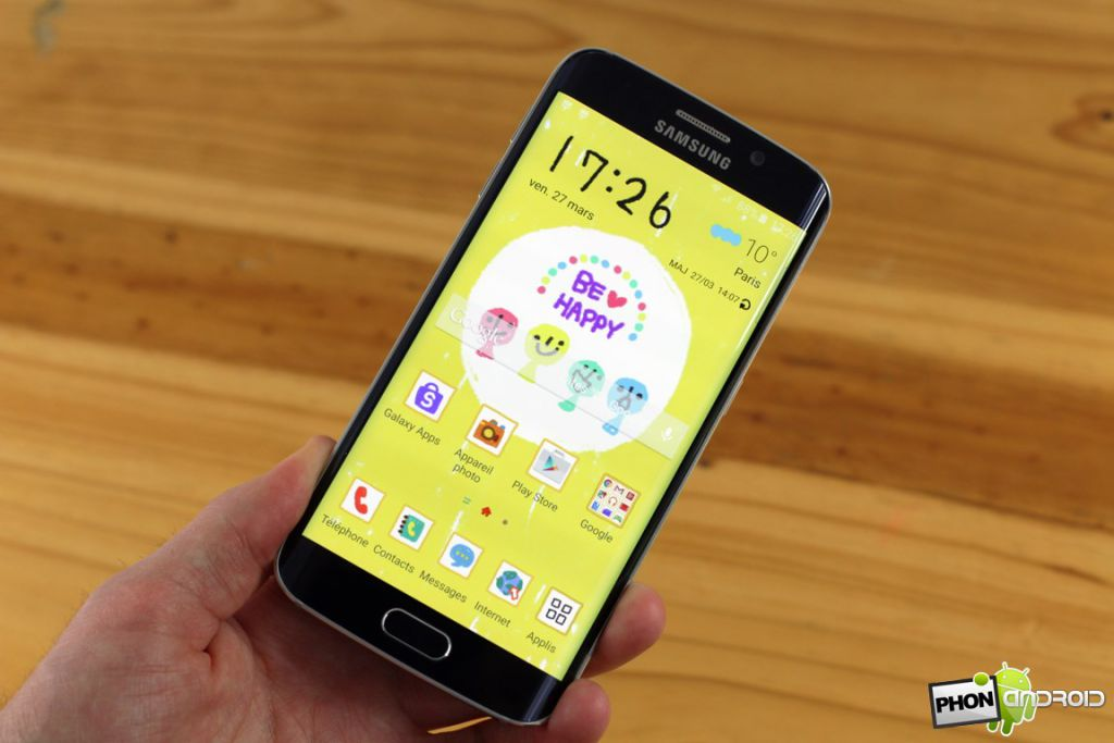 Galaxy S6 Edge themes