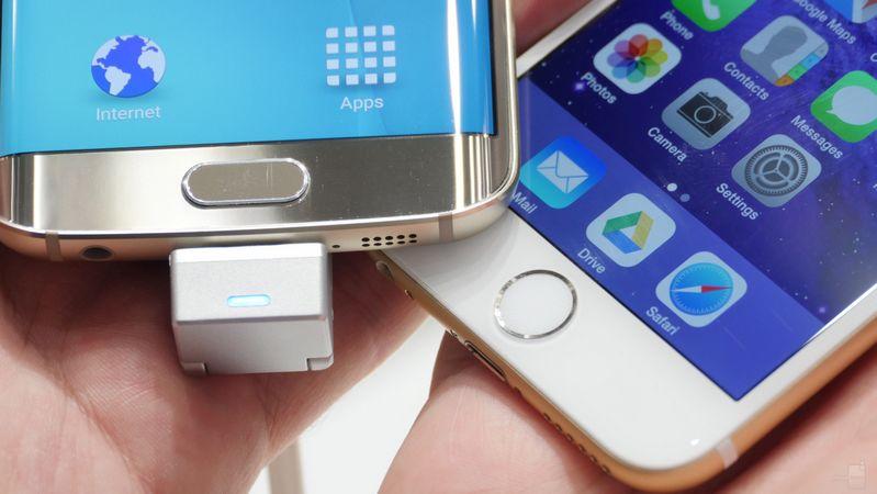 Galaxy S6 Edge vs iPhone 6 Plus comparatif capteurs photo