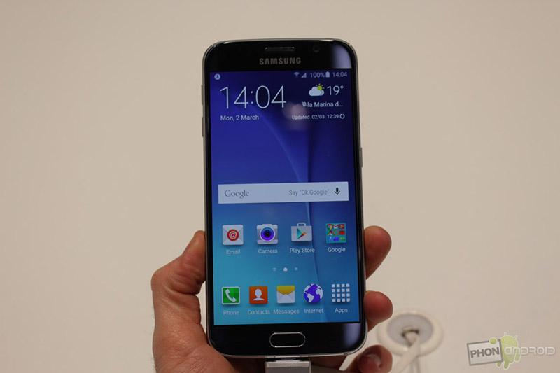 Galaxy S6, l'empreinte digitale à tout faire !