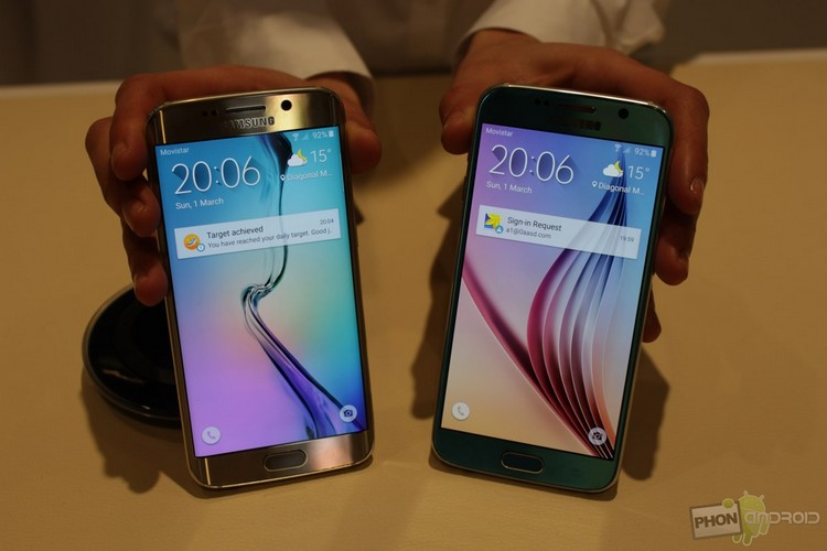 Conception du Galaxy S6 et S6 Edge