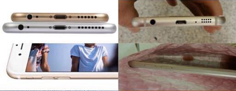 galaxy s6 iphone 6 design