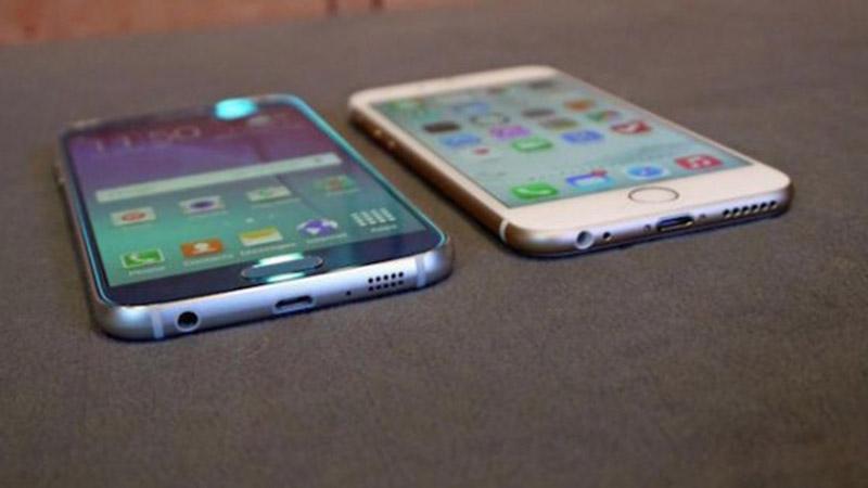 galaxy s6 iphone 6 ventes