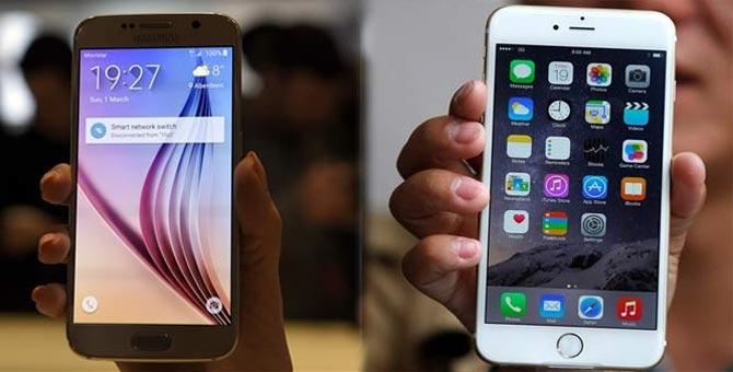 Galaxy S6 vs iPhone 6, le test du stabilisateur d'image