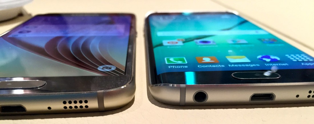 Le Galaxy S6 et le Galaxy S6 Edge