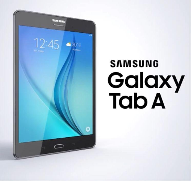 Galaxy Tab A promo