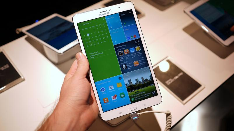 Galaxy Tab Pro 8.4 scanner d'iris