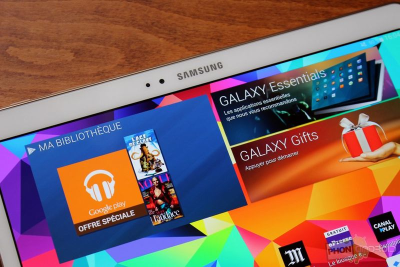 Galaxy Tab S 10.5 Android Lollipop